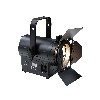 COB-Led Theaterspot 50W 3000k WW,  Manual zoom 14-47, zwart