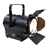 COB-Led Theaterspot 350W 3000k WW,  Manual zoom 11-68, zwart